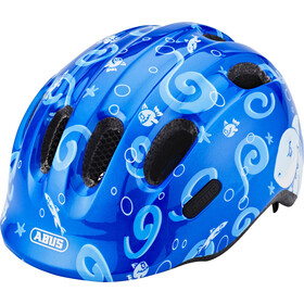 ABUS Smiley 2.0 Fietshelm Kinderen, blue sharky